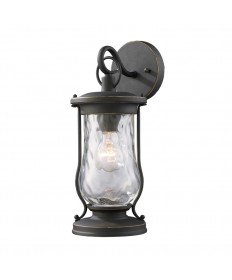 ELK Lighting 43016/1 Farmstead 1 Light Outdoor Sconce in Matte Black