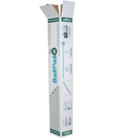 Satco 4SBAKPAK Satco 4 Foot Recycle Fluorescent Tubes Small Corrugated Box
