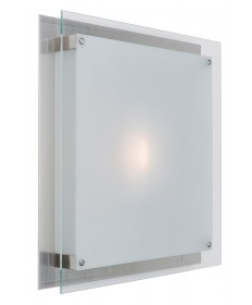 Access Lighting 50032-BS/FST Vision Wall Fixture or Flush-Mount