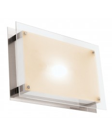 Access Lighting 50034-BS/FST Vision Wall Fixture or Flush-Mount