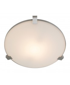 Access Lighting 50070-BS/WHT Luna Flush-Mount