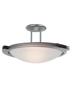 Access Lighting 50074-BS/FST Triton Semi-Flush