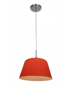 Access Lighting 50170-BS/ORG Aire Silk Glass Pendant