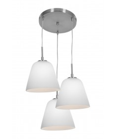 Access Lighting 50173-BS/ORG Aire Silk Glass Pendant