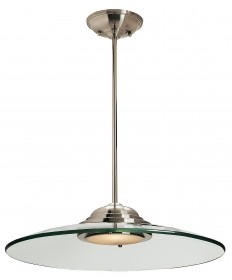 Access Lighting 50444-BS/8CL Phoebe Semi-Flush or Pendant
