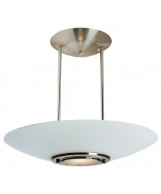 Access Lighting 50454-BS/FST Argon Semi-Flush or Pendant