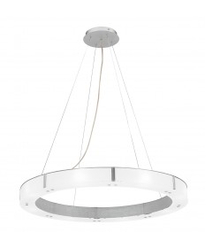 Access Lighting 50466-ALU/FST Oracle Cable Pendant Chandelier