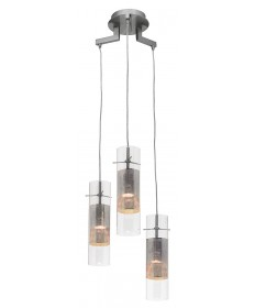 Access Lighting 50526-BS/CLM Spartan Pendant