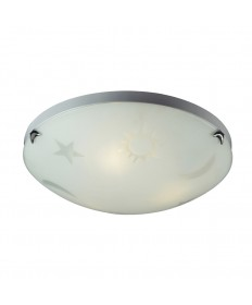 ELK Lighting 5088/3 Novelty 3 Light Night Sky Flush Mount