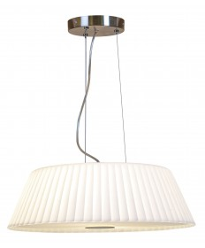 Access Lighting 50958-BS/WH Leilah Cable Pendant