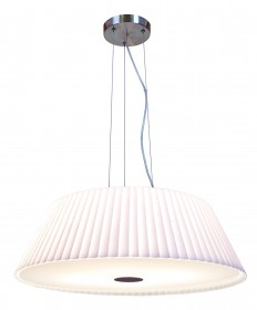 Access Lighting 50959-BS/WH Leilah Cable Pendant