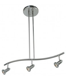 Access Lighting 52205-BS Cobra Spotlight Pendant