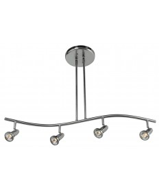 Access Lighting 52206-BS Cobra Spotlight Pendant