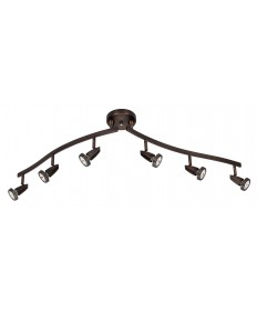 Access Lighting 52226-BS Mirage Semi-Flushwith articulating arms