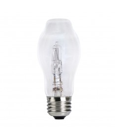 Bulbrite 616153 | 53 Watt Dimmable ECO Halogen BT15 Bulb, Medium Base