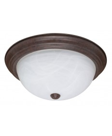 Nuvo Lighting 60/207 3 Light 15 inch Flush Mount Alabaster Glass