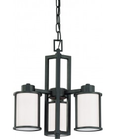 Nuvo Lighting 60/2976 Odeon 3 Light (convertible up/down) Chandelier