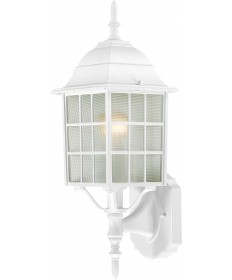 "Nuvo Lighting 60/3477 Adams 1 Light 18"" Outdoor Wall with Frosted"
