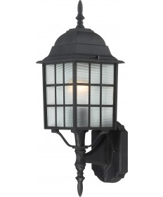 "Nuvo Lighting 60/3479 Adams 1 Light 18"" Outdoor Wall with Frosted"