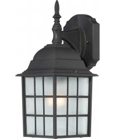 "Nuvo Lighting 60/3482 Adams 1 Light 14"" Outdoor Wall with Frosted"