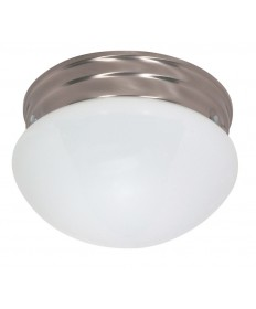 Nuvo Lighting 60/405 2 Light Cfl 10 inch Medium White Mushroom (2) 13W GU24 Lamps Included