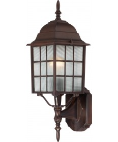 "Nuvo Lighting 60/4902 Adams 1 Light 18"" Outdoor Wall with Frosted"