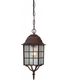 "Nuvo Lighting 60/4912 Adams 1 Light 16"" Outdoor Hanging with Frosted"
