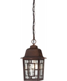 """Nuvo Lighting 60/4932 Banyan 1 Light 11"""" Outdoor Hanging with Clear"""