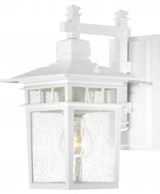 """Nuvo Lighting 60/4951 Cove Neck 1 Light 12"""" Outdoor Lantern with Clear"""