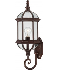 "Nuvo Lighting 60/4972 Boxwood 1 Light 22"" Outdoor Wall with Clear"