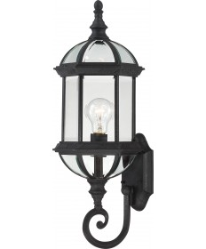 "Nuvo Lighting 60/4973 Boxwood 1 Light 22"" Outdoor Wall with Clear"