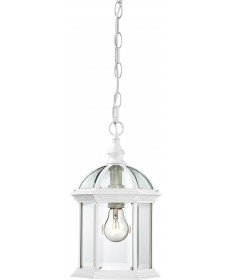 "Nuvo Lighting 60/4977 Boxwood 1 Light 14"" Outdoor Hanging with Clear"