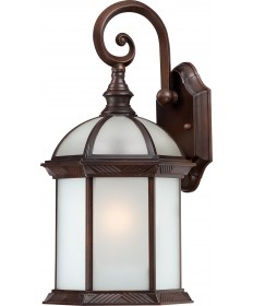 "Nuvo Lighting 60/4982 Boxwood ES 1 Light 16"" Outdoor Wall with Frosted"