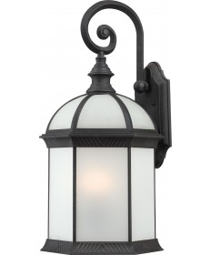 "Nuvo Lighting 60/4983 Boxwood ES 1 Light 16"" Outdoor Wall with Frosted"