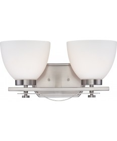 Nuvo Lighting 60/5012 Bentlley 2 Light Vanity Fixture with Frosted
