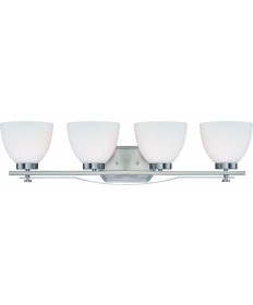 Nuvo Lighting 60/5019 Bentlley 4 Light Vanity Fixture with Frosted