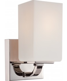 Nuvo Lighting 60/5181 Vista 1 Light Vanity Fixture with Etched Opal