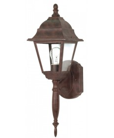Nuvo Lighting 60/541 Briton 1 Light 18 inch Wall Lantern with Clear Seed Glass