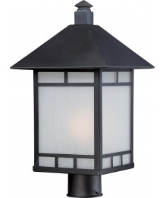 Nuvo Lighting 60/5605 Drexel 1 Light Outdoor Post Fixture with Frosted