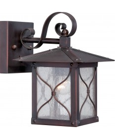 "Nuvo Lighting 60/5611 Vega 1 Light 6.5"" Outdoor Wall Fixture with"