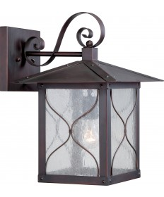 "Nuvo Lighting 60/5613 Vega 1 Light 11"" Outdoor Wall Fixture with Clear"