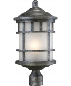 Nuvo Lighting 60/5635 Manor 1 Light Outdoor Post Fixture with Frosted