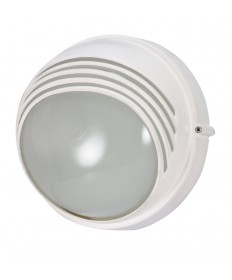 Nuvo Lighting 60/564 1 Light Cfl 10 inch Round Hood Bulk Head (1) 13W GU24 Lamp Included