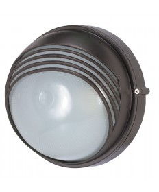 Nuvo Lighting 60/565 1 Light Cfl 10 inch Round Hood Bulk Head (1) 13W GU24 Lamp Included