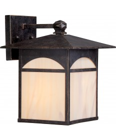 "Nuvo Lighting 60/5652 Canyon 1 Light 9"" Outdoor Wall Fixture with"