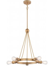 Nuvo Lighting 60/5715 Paxton 5 Light Chandelier Includes 40W A19