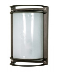 Nuvo Lighting 60/575 1 Light Cfl 10 inch Rectangle Bulk Head (1) 18W GU24 Lamp Included