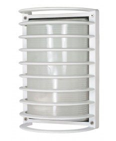 Nuvo Lighting 60/576 1 Light Cfl 10 inch Rectangle Cage Bulk Head (1) 18W GU24 Lamp Included