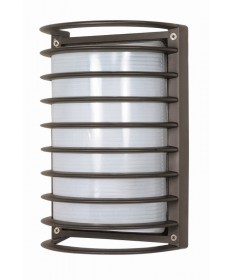 Nuvo Lighting 60/577 1 Light Cfl 10 inch Rectangle Cage Bulk Head (1) 18W GU24 Lamp Included