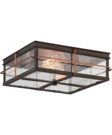 Nuvo Lighting 60/5834 Howell 2 Light Outdoor Flush Fixture with 60w